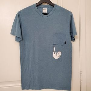 RIPNDIP blue t shirt